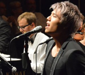 """Music was my frist love"" - Jay Oh in Aktion. Foto: Wolfgang Teipel"